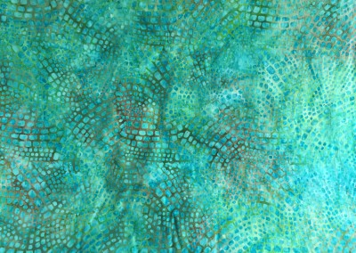 Green Square fabric 1
