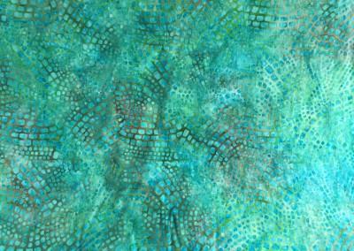 Green Square fabric 1