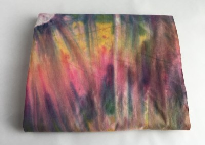 Rainbow Tye Dye fabric 4